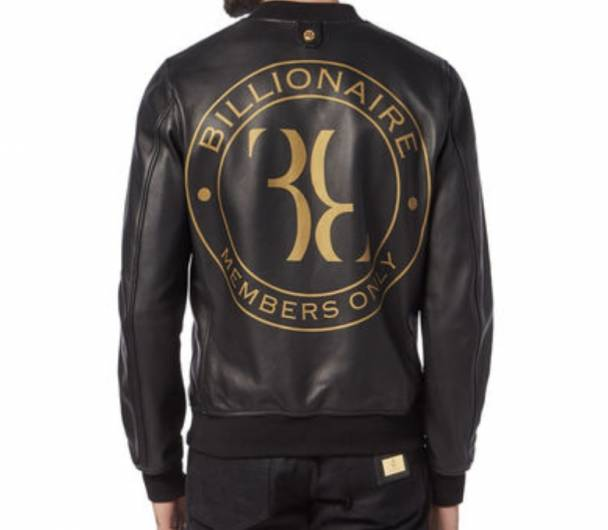 Billionaire Leather Bomber Members only