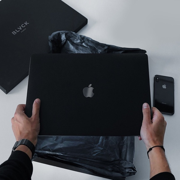 image  1 BLVCK MACBOOK SKIN