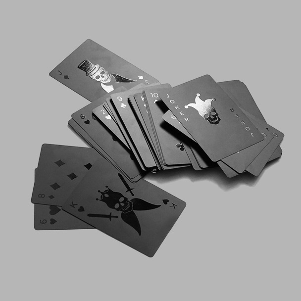image 2 BLVCK PLAYING CARDS