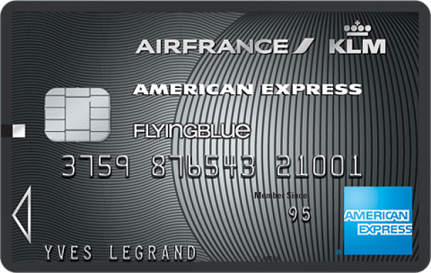 image  1 AIR FRANCE KLM - AMERICAN EXPRESS PLATINUM CARD