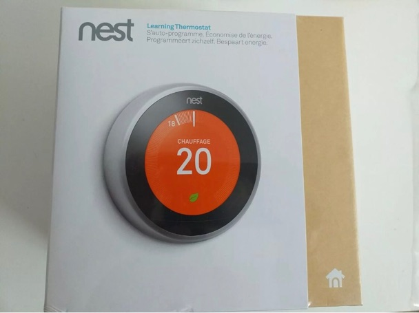 image  1 Nest learning thermostat