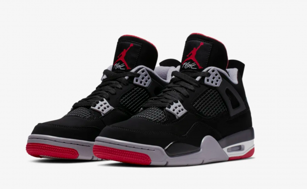 image  1 NIKE Air Jordan IV Bred Review